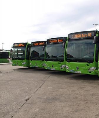 Aucorsa recibe el dinero para construir la 'gasinera' en la que repostarán los nuevos autobuses