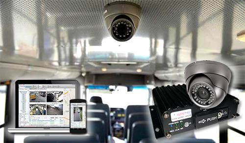 Toda la flota de Aucorsa tendrá cámaras de seguridad antes de final de año