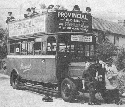 Córdoba, una de las primeras ciudades andaluzas en tener autobuses (1922)