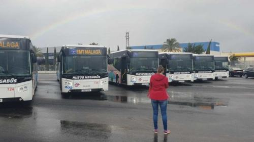 Málaga incorpora 10 nuevos megabuses a la flota de EMT